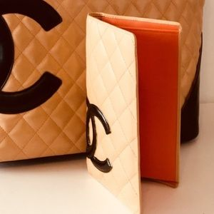 Authentic Chanel Cambon C bifold wallet